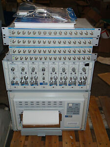 Gould Data Acquisition System With Ta2000 Recorder 8 Modules 4 Acq16 Interface