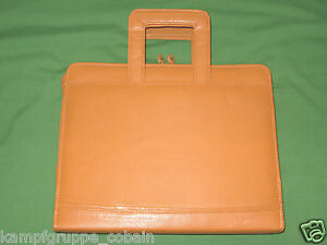 8 5x11 1 0 Carmel Brown Leather Day Runner Planner Monarch Franklin Covey 444