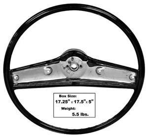 1969 Camaro 69 70 Chevelle El Camino 70 Monte Carlo Steering Wheel black New