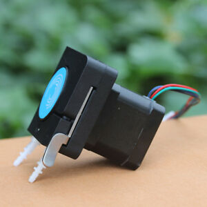Micro Dc12v Dosing Pump Corrosion Resistant With Stepper Motor