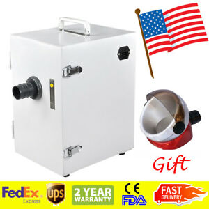 Dental Digital Single row Dust Collector Vacuum Cleaner Lab Equipment Machine Us