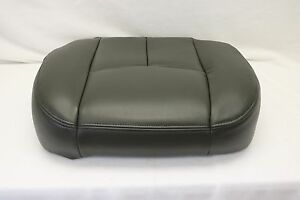 2003 2004 2005 2006 2007 Chevy Silverado Work Truck Bottom Seat Cover Dark Gray
