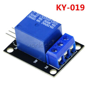 Ky 019 5v One Channel 1 Ch Relay Module Board Shield Pic Avr Dsp Arm For Arduino