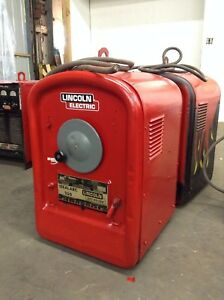 Lincoln Electric Idealarc 250 Ac Stick Welder 1 Phase 250 Amp 230 460 Vac