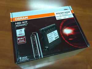 Osram Hid Conversion Kit Eco H7 4200k Slim Ballast Alternative To Philips Hid