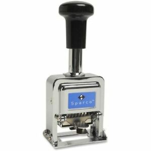 Sparco Self inked 5 Wheels Automatic Numbering Machine 80057