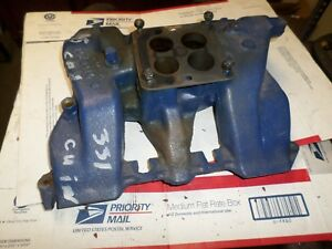1955 Cadillac Intake Manifold Used In Nice Condition Cast 1463414