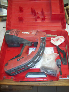Hilti Gx 120 me Fully Automatic Gas Actuated Nailer Nail Gun Fastening Tool 120