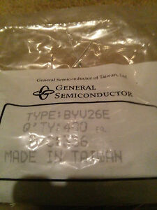 General Semiconductor byv26e 1000v 1a Ultra fast Avalanche Glass Diode qty 400