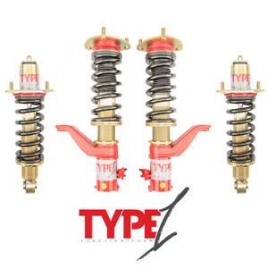 Function Form Type 1 Height Adjustable Coilovers Honda Civic Si Ep3 2001 2005