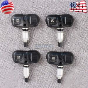 Set Of 4 Oem New Honda Tire Pressure Sensor Tpms 42753 swa a54 Alloy Wheels 2 4l