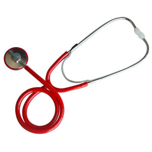 Silvering Head Single Tube Adult And Child Stethoscope Professional Stethoscope