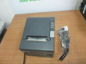 Epson Tm t88iv M129h Pos Thermal Receipt Printer Usb Port W Ps 180 Power Supply
