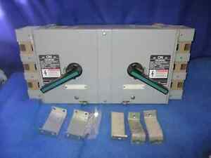 Siemens Ite Vacubreack Panelboard Switch 200a 480v V7f3644 Twin 2 Year Warranty