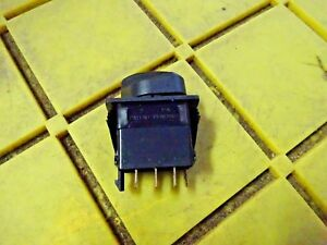 Carling Technologies Rv16b2dd0pb k9c Rotary Switch On off on Lighted