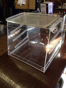 Counter top Merchandiser Plexiglas Bakery Display