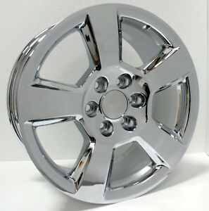 New 20 Ltz Style Chrome Wheels Rims Chevy Silverado Tahoe Suburban Avalanche