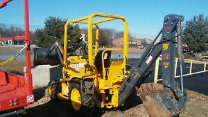 2017 Terramite T5 Backhoe only 106 Hours