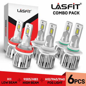 Lasfit Led Headlight fog Light For Dodge Ram 1500 2500 3500 4500 5500 2009 2017
