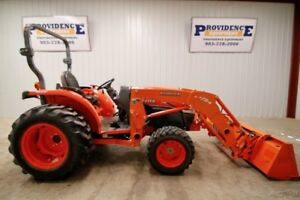 Kubota L3240 Hst 4wd Tractor Loader La724 Loader With Quick Attach 1139 Hrs