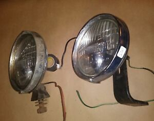 Vintage Lucas Fogranger Fog Light For Parts Made In England Lot 500