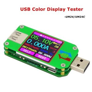 Usb Lcd Display Tester Voltage Current Meters Voltmeter Battery Charge Measurers