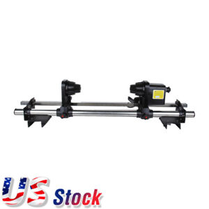 Usa 64 Automatic Media Take Up Reel D64 For Printers Mimaki Roland Epson Mut