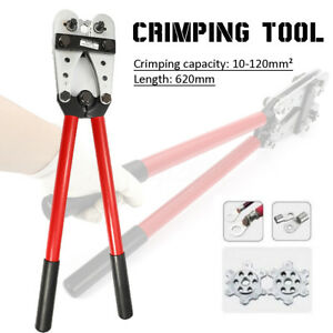 Y o Terminal 8 4 0 Crimping Tool 10 120mm Cable Battery Rotatable Lug Crimper