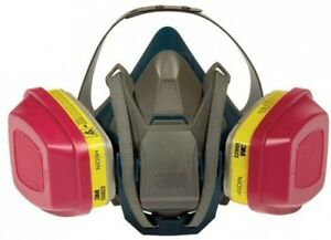 Respirator Mask Safety Half Face Quick Latch Adjustable Head Harness case Of 4
