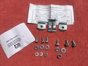 1961 Chevrolet Impala Biscayne Bel Air New Accessory Grill Guard Hardware Kit