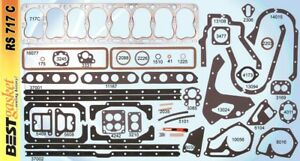Packard 1940 1950 356 C i Straight 8 Complete Engine Gasket Set Made In Usa