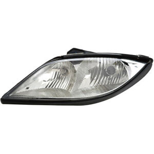 New Direct Fit Left Side Headlight Assembly Fits Pontiac Sunfire