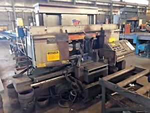 Hem Saw 20 X 20 Dual Column Horizontal Band Saw H130ha dc Year 1997