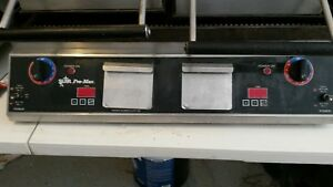 Star Pro max Pannini Sandwich Grill Press 31 Grooved Cast Iron Commercial