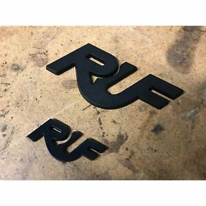 Ruf Porsche Front And Rear Badge Emblems New