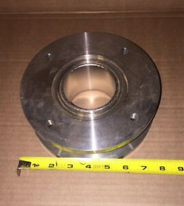 Varian Ss High Vacuum Extension Chamber With 7 Flanges