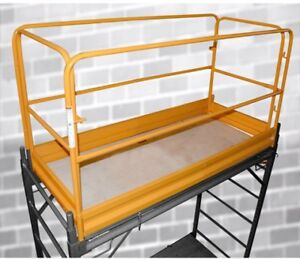 Pro series Scaffolding Guard Rail System Frame Rust resistant Outdoor Tools New