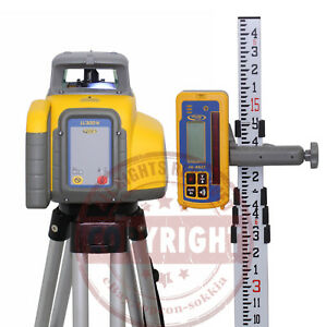 Spectra Precision Ll300n 2 Package Self leveling Rotary Laser Level topcon
