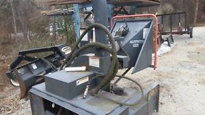 Alltec Wood Chipper Skid Steer Attchment