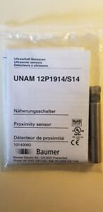 Baumer Electric Ultrasonic Sensor Unam 12p1914 s14
