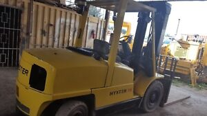 Hyster H110xm Forklift 11000 Lbs Cap 3 Stage Perkins Diesel Great Opportunity