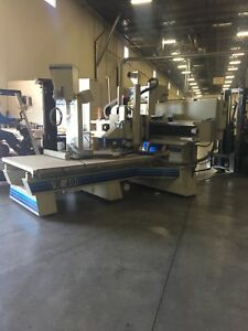 Komo Vr 408 Wood Cnc 5 Axis Cnc Machine With Vacume Pump And Alot Of New Extra P