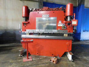 225 Ton X 10 Pacific Hydraulic Press Brake 2 Axis Cnc Metal Bender