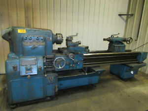 24 Swing X 72 Center Monarch Engine Lathe Metal Turning Machine 10hp