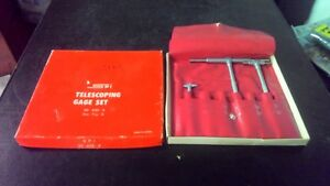 Spi Telescoping Gage Set 30 430 3 3 Pc Set Free Shipping
