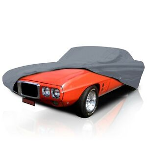 cct 5 Layer Weather waterproof Full Car Cover For Pontiac Firebird 1967 2002