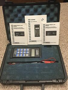 Omega Ma v Loop Calibrator Model Cl28ma Very Nice