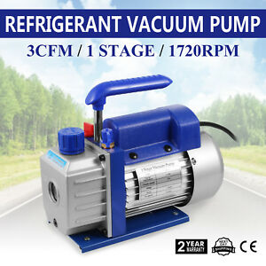 Vacuum Chamber And 3cfm Single Stage Pump Degassing Silicone Kit