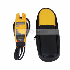 Fluke T5 1000 1000 Voltage Continuity Current Electrical Tester Meter Soft Case