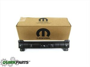 06 07 Jeep Grand Cherokee Commander Dashboard 5 Gang Switch New Mopar Genuine